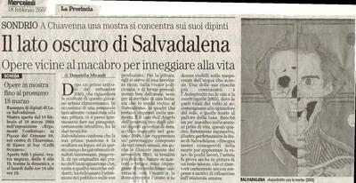 La Provincia di Sondrio (18 febbraio2004)