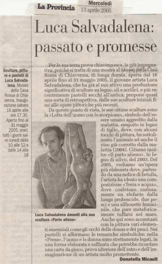 La Provincia di Sondrio (13 aprile2005)