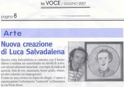La Voce della Valchiavenna (giugno2007)
