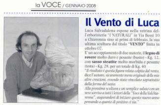 La Voce della Valchiavenna (gennaio2008)