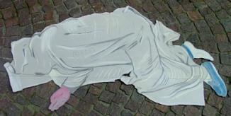 """Modina per scultura """"Incidente"""" (gennaio2008)"""
